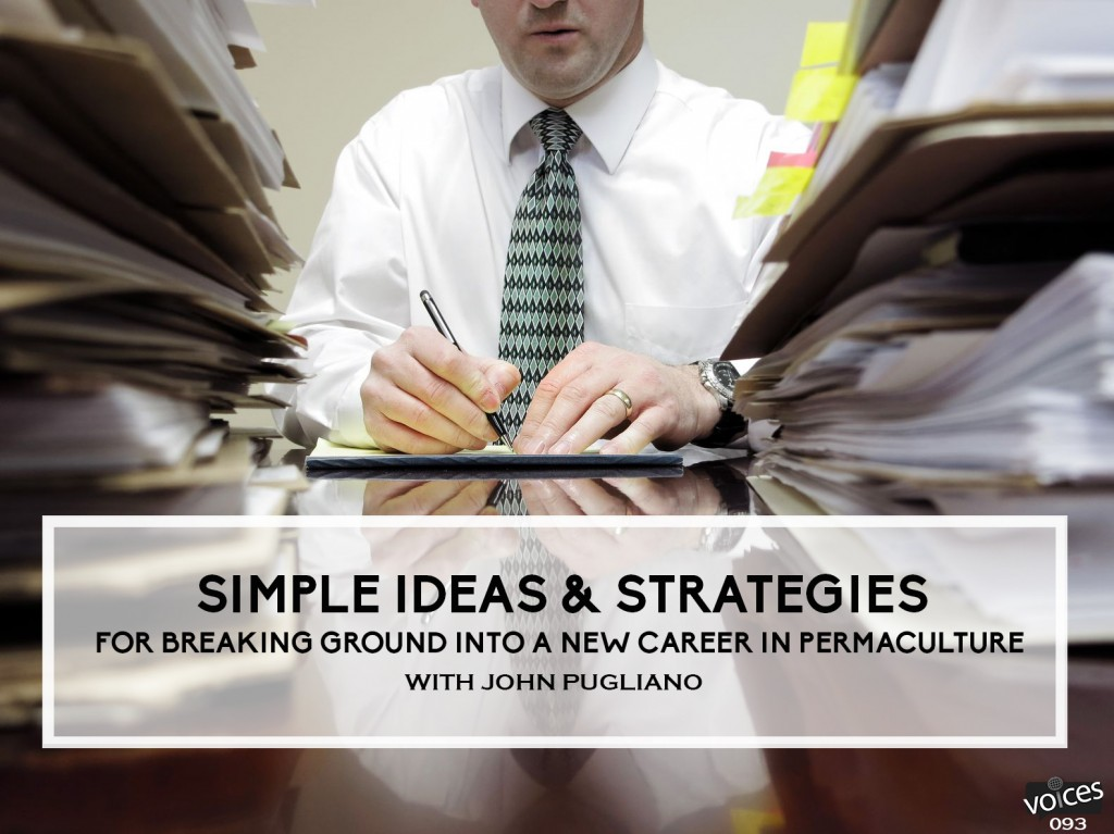 Simple Ideas and Strategies for Breaking Ground into a New Career ...