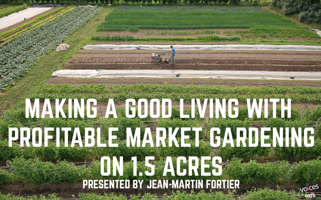 Perfect The Market Gardener Permaculture Voices